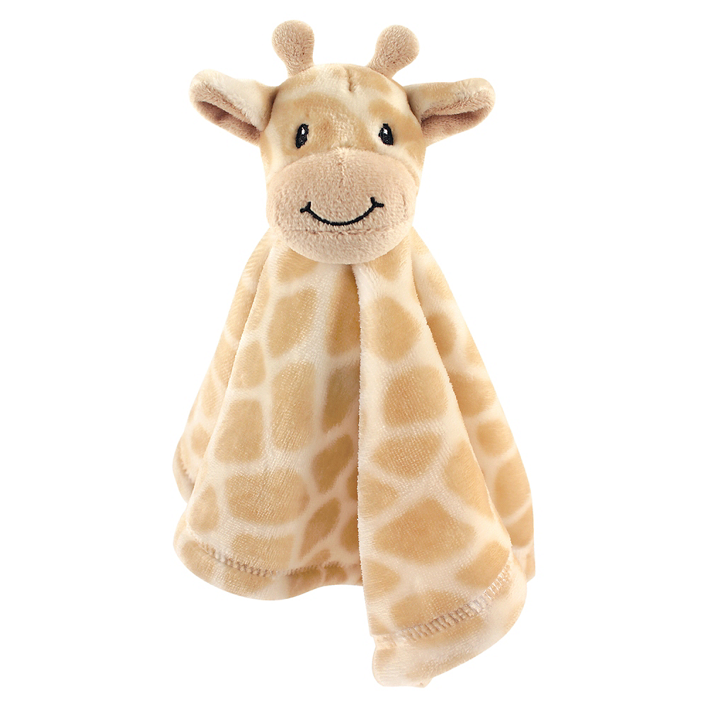 Giraffe Hudson Baby Animal Friend Plushy Security Blanket Image #1