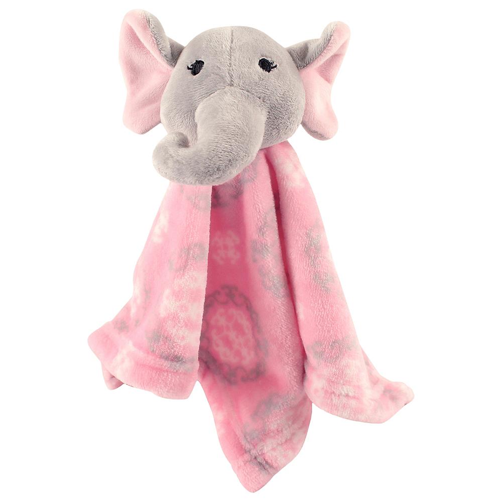 Elephant Hudson Baby Animal Friend Plushy Security Blanket Image #1
