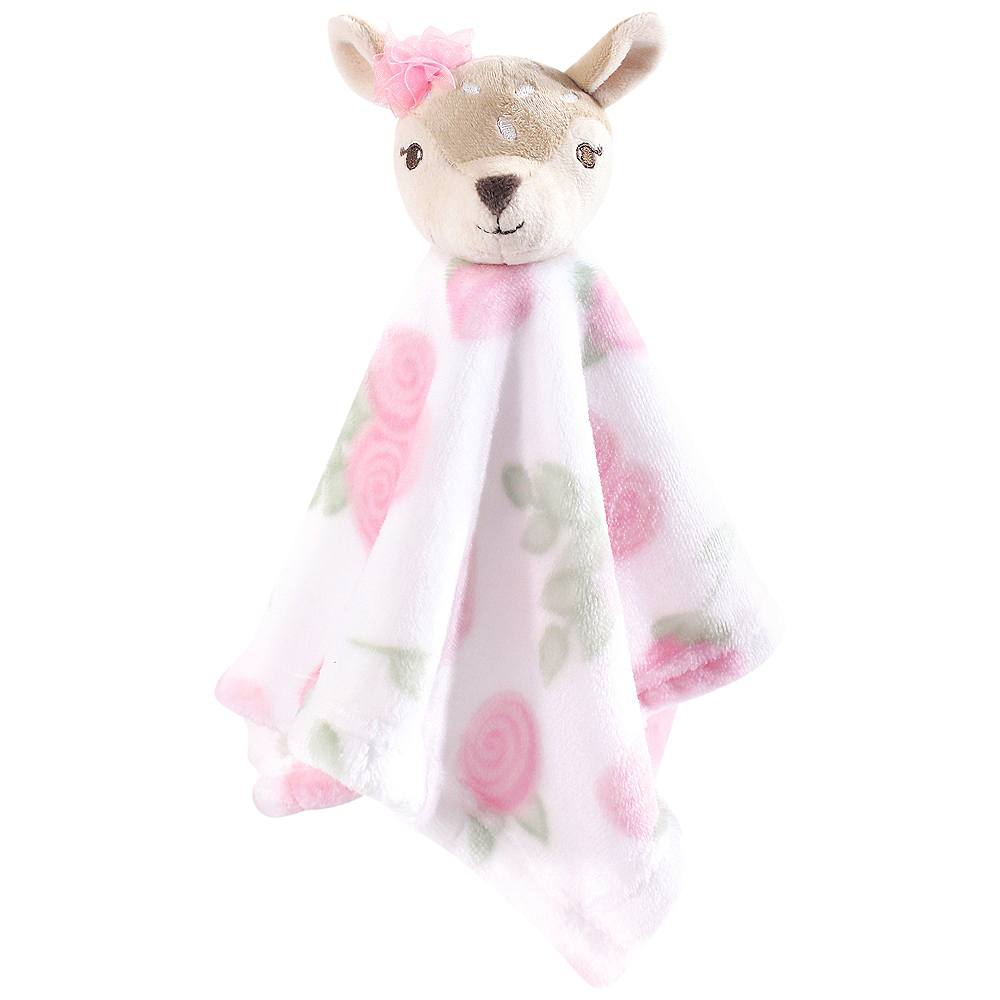 Fawn Hudson Baby Animal Friend Plushy Security Blanket Image #1