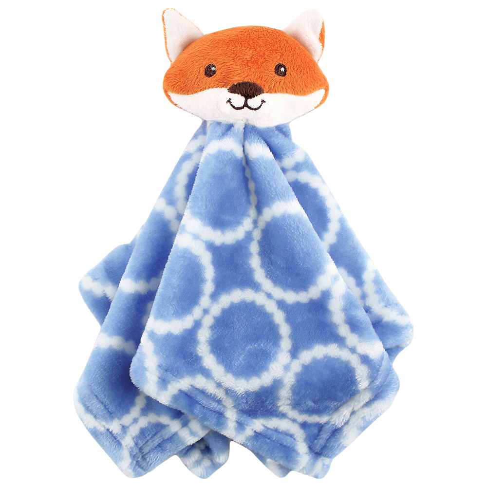 Fox Hudson Baby Animal Friend Plushy Security Blanket Image #1