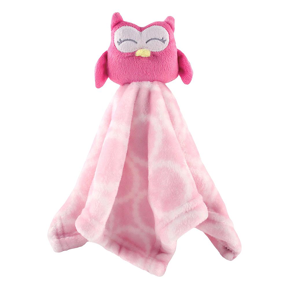 Owl Hudson Baby Animal Friend Plushy Security Blanket Image #1