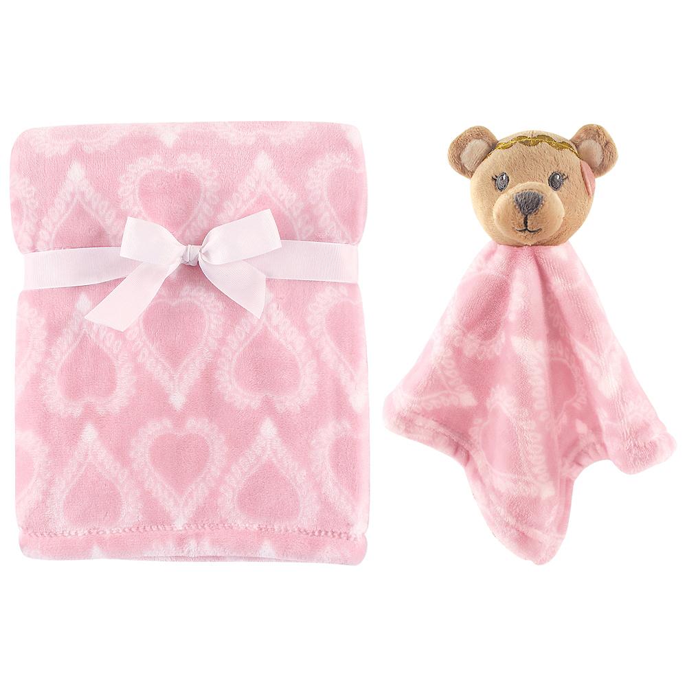 Bear Hudson Baby Plush Blanket and Security Blanket Image #1