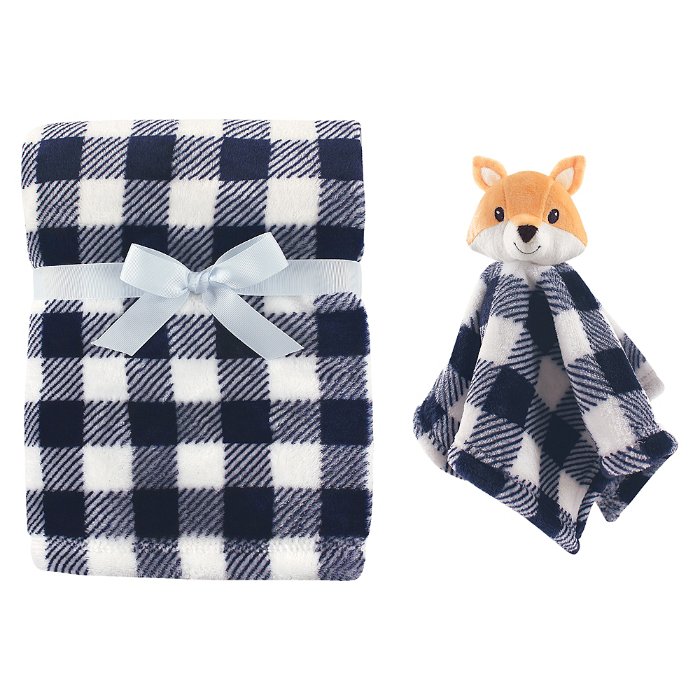 Fox Hudson Baby Plush Blanket and Security Blanket Image #1