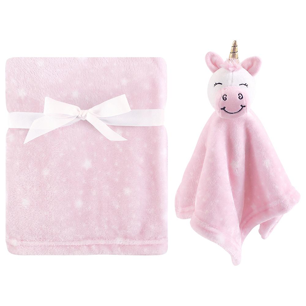 Unicorn Hudson Baby Plush Blanket and Security Blanket Image #1