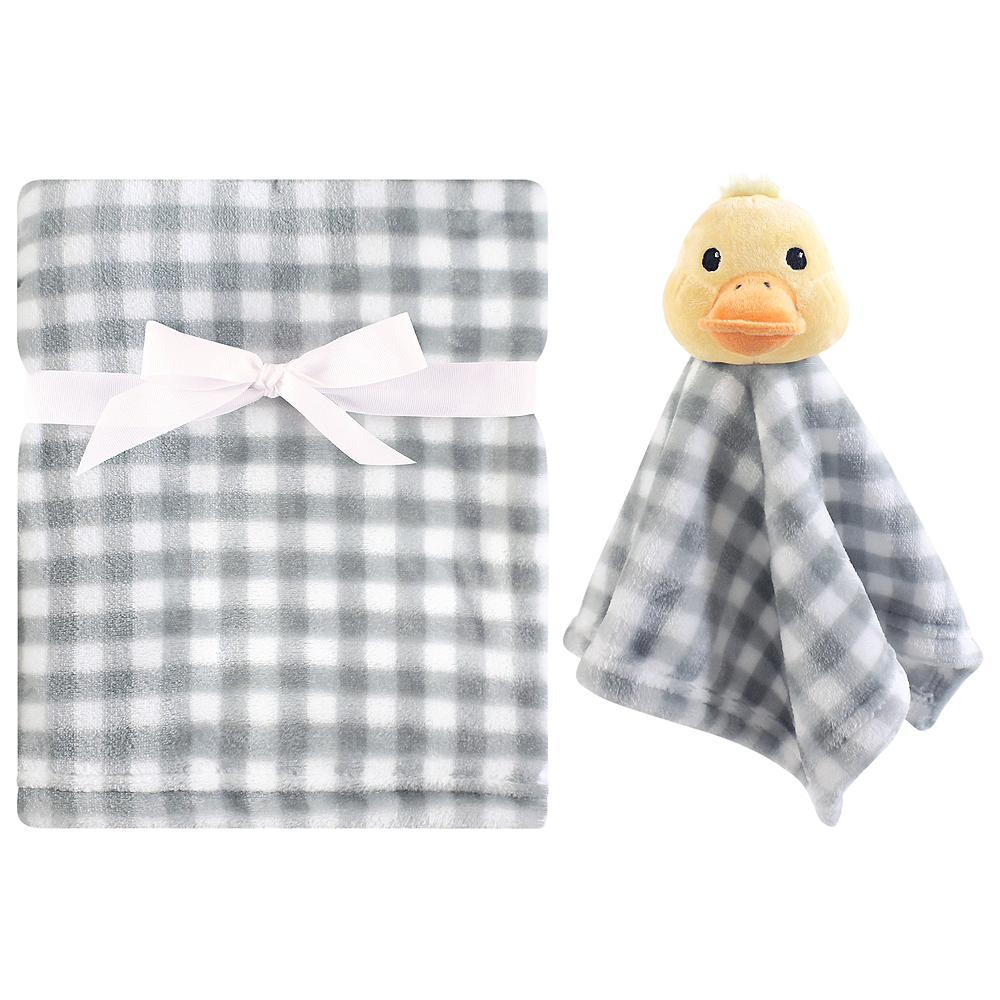 Duck Hudson Baby Plush Blanket and Security Blanket Set Image #1