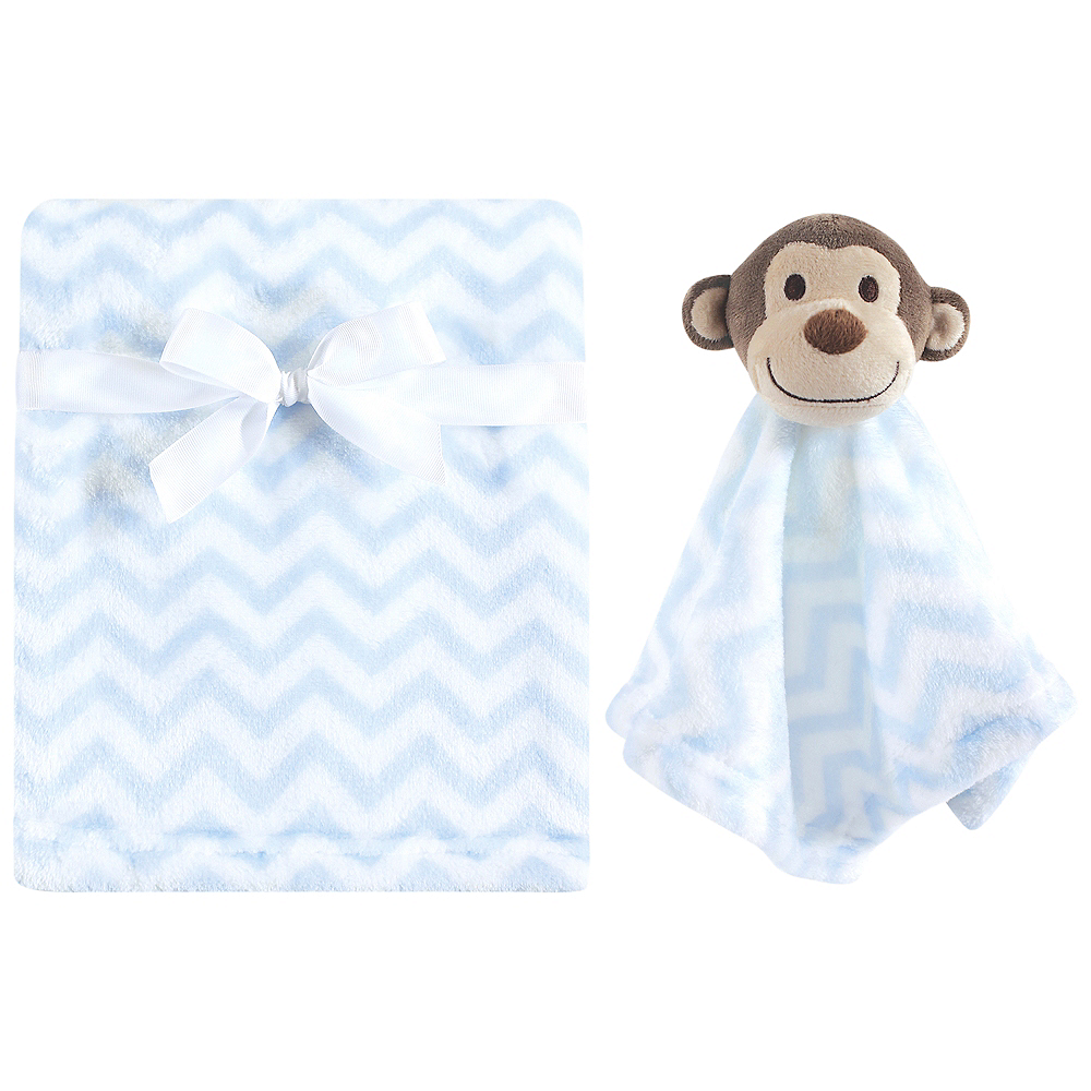 Nav Item for Blue Hudson Baby Plush Blanket and Security Blanket Image #1