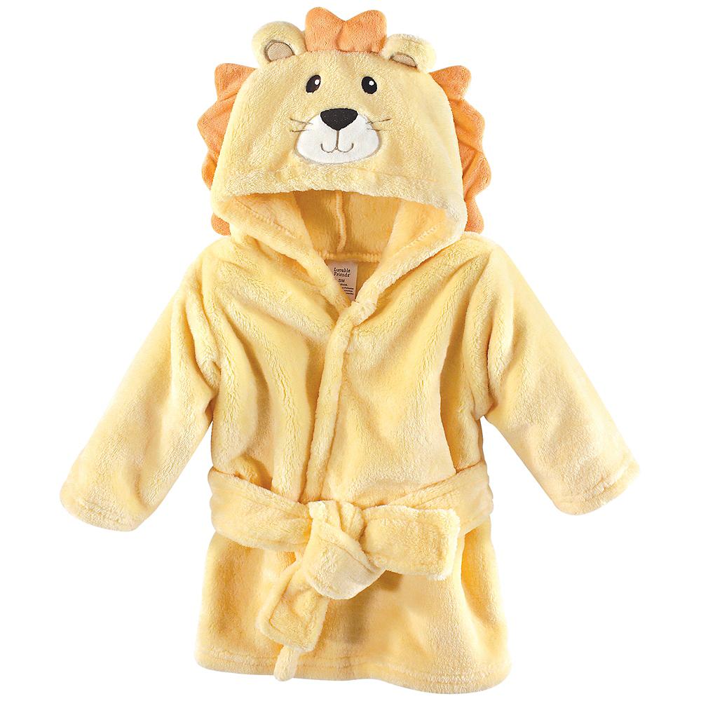 Lion Luvable Friends Animal Face Bathrobe Image #1