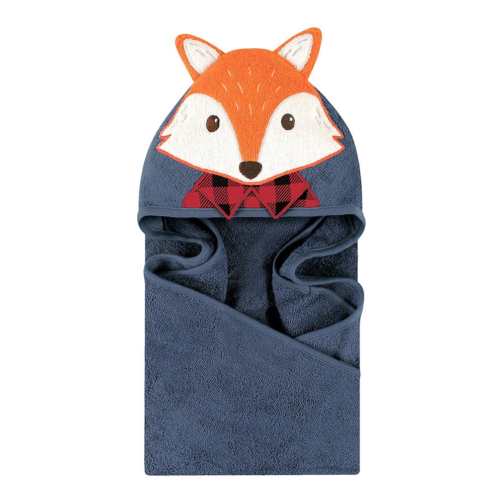Mr. Fox Little Treasure Animal Face Hooded Towel Image #1