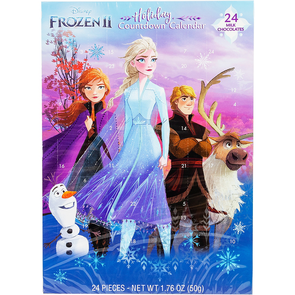 Frozen 2 Holiday Countdown Calendar Image #1