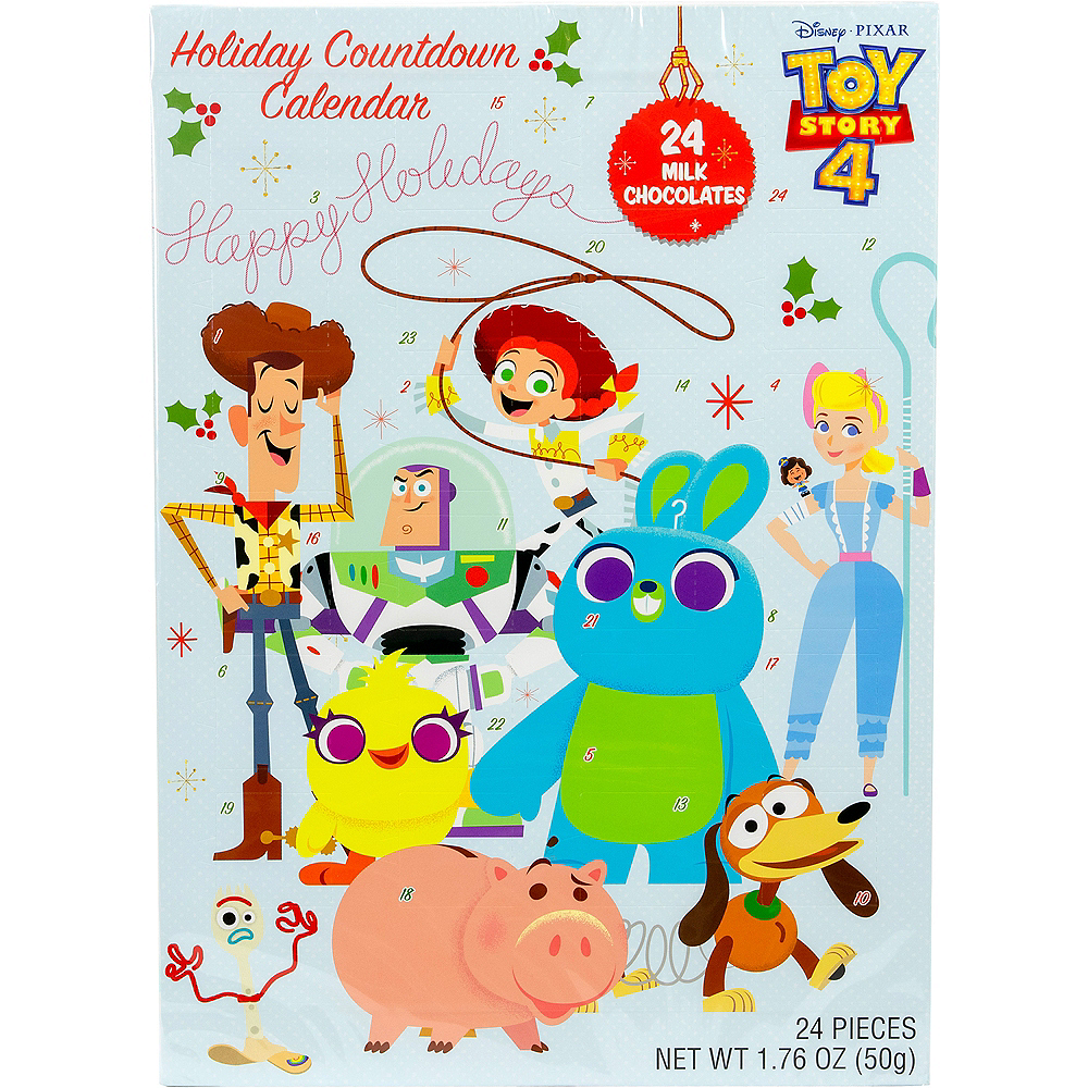Toy Story 4 Holiday Countdown Calendar Image #1