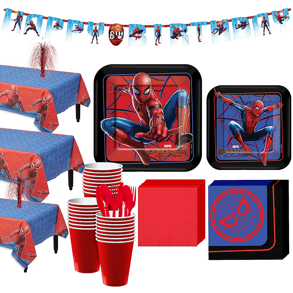 Spider-Man: Far From Home Tableware Kit for 24 Guests Image #1