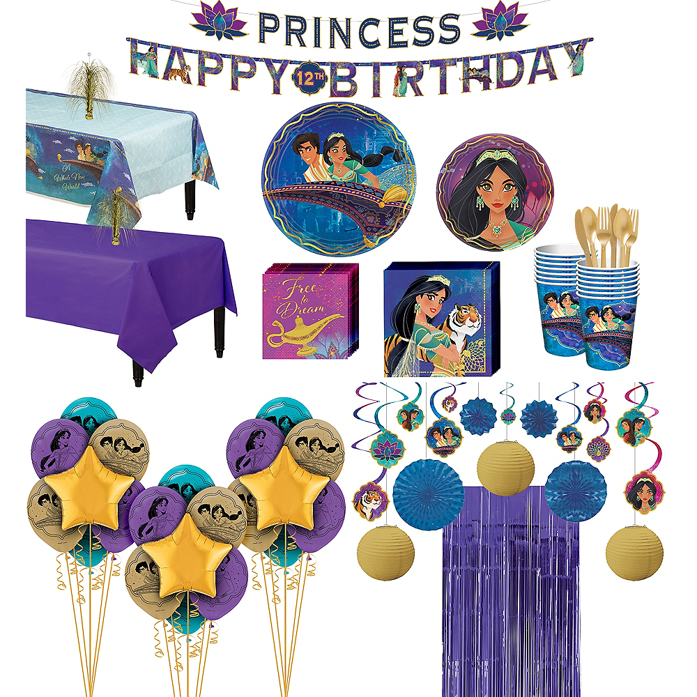 Nav Item for Super Aladdin Party Kit for 16 Guests Image #1