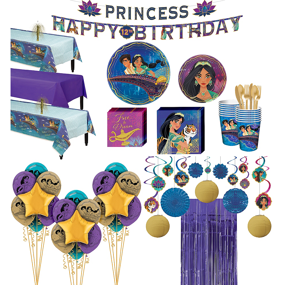 Super Aladdin Party Kit for 24 Guests Image #1