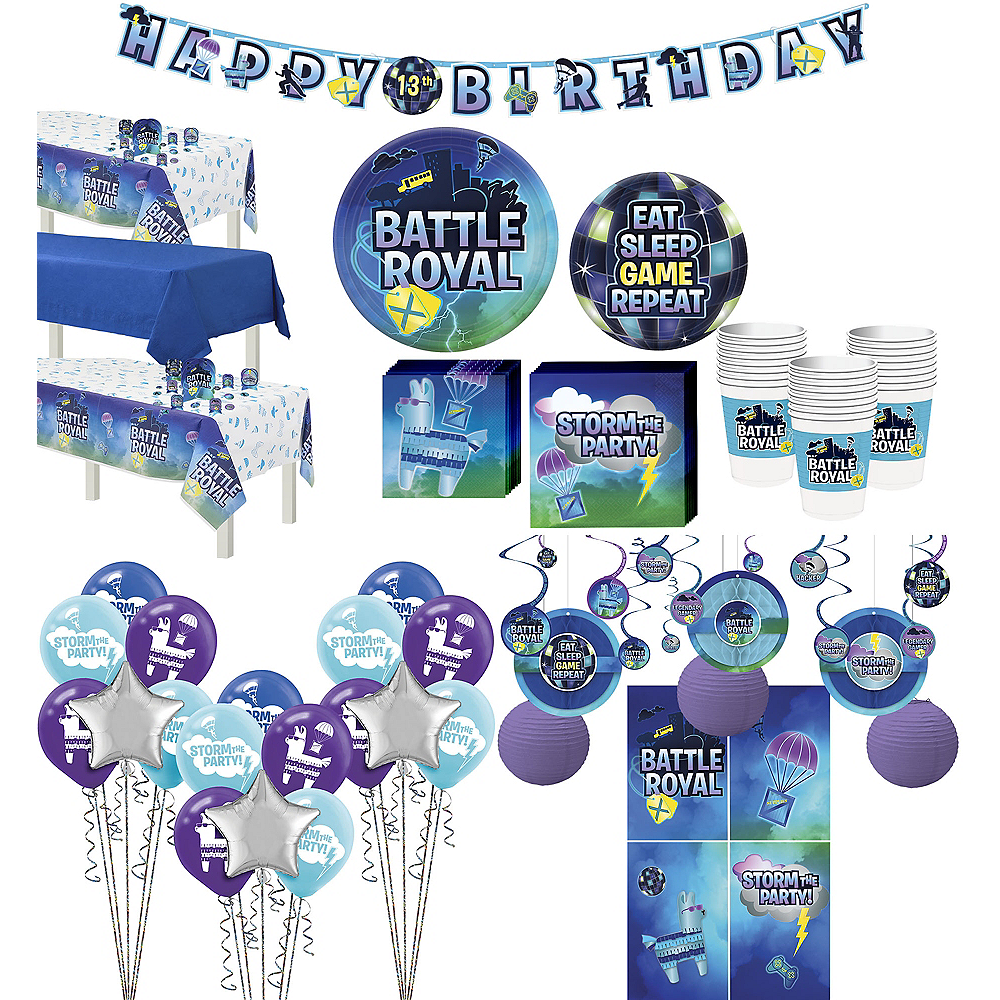 Ultimate Battle Royal Party Kit for 24 Guests Image #1