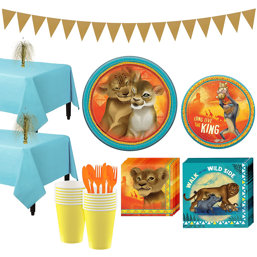 Lion King Tableware Kit for 16 Guests Image #1