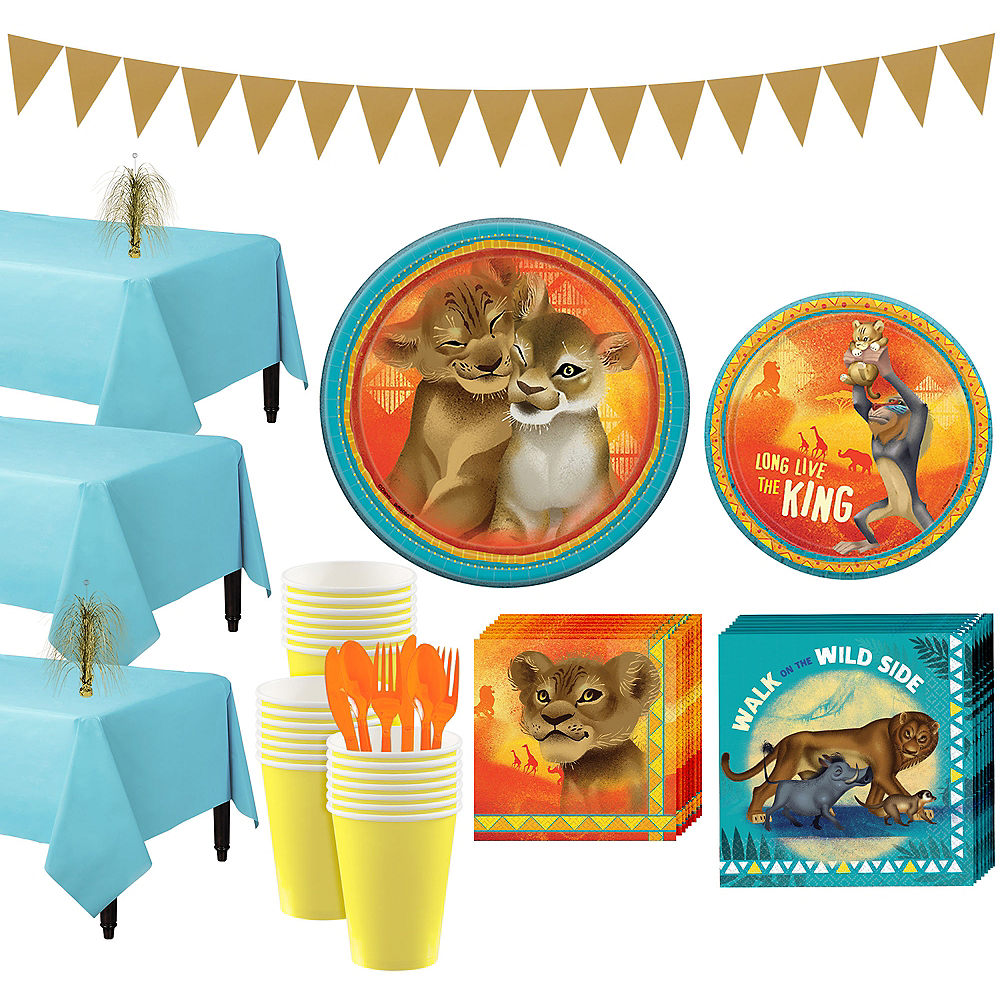 Lion King Tableware Kit for 24 Guests Image #1