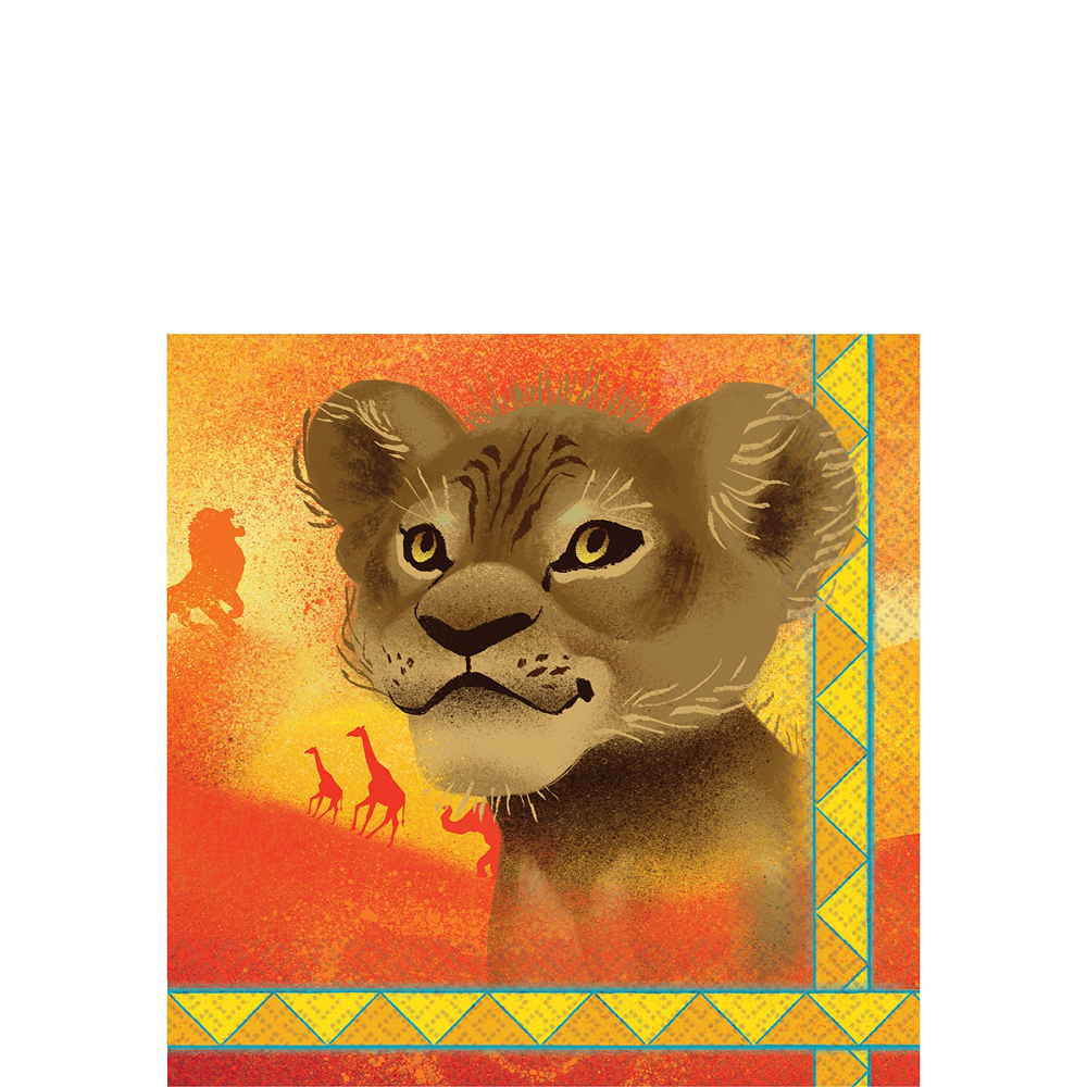 Lion King Tableware Kit for 24 Guests Image #4
