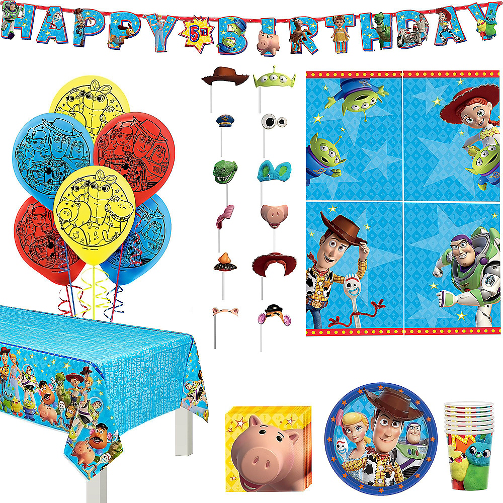 Toy Story 4 Birthday Party Kit for 8 Guests Image #1