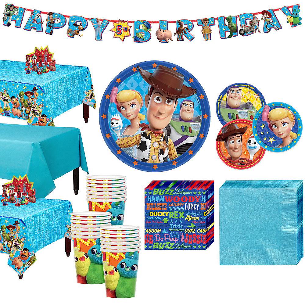 Toy Story 4 Tableware Kit for 24 Guests Image #1