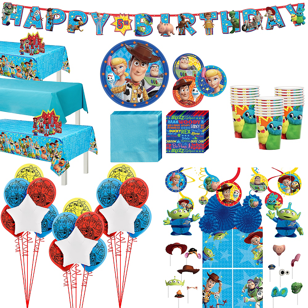 Super Toy Story 4 Party Kit for 24 Guests Image #1
