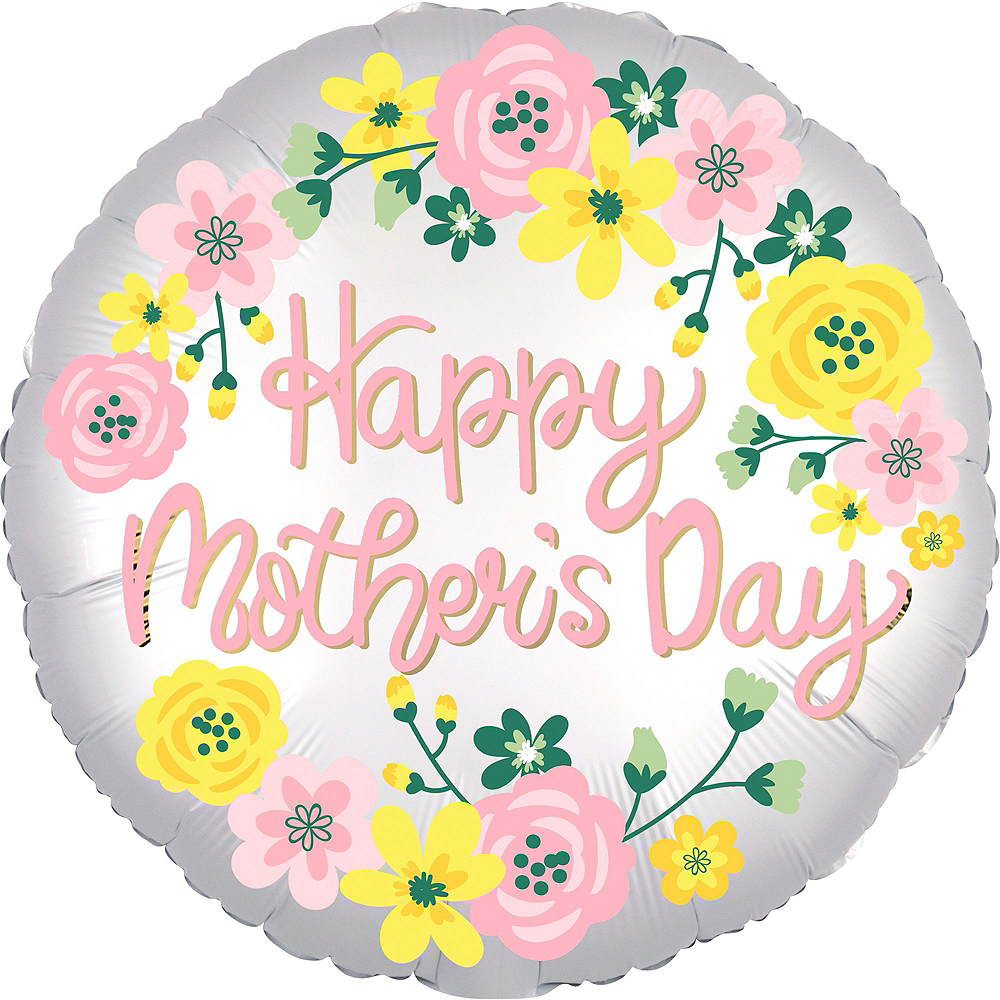 Nav Item for Flowers & Hearts Mother's Day Balloon Kit Image #3