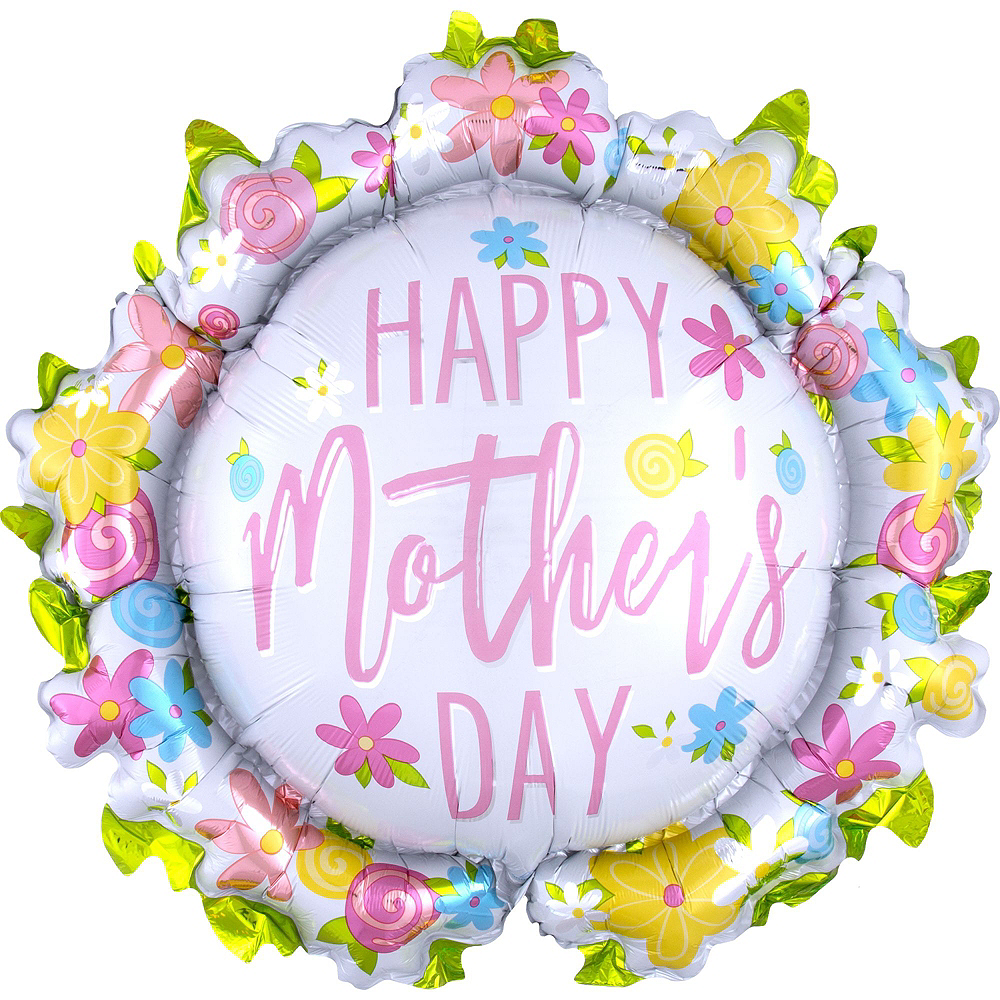 Colorful Flowers & Hearts Mother's Day Balloon Kit Image #3