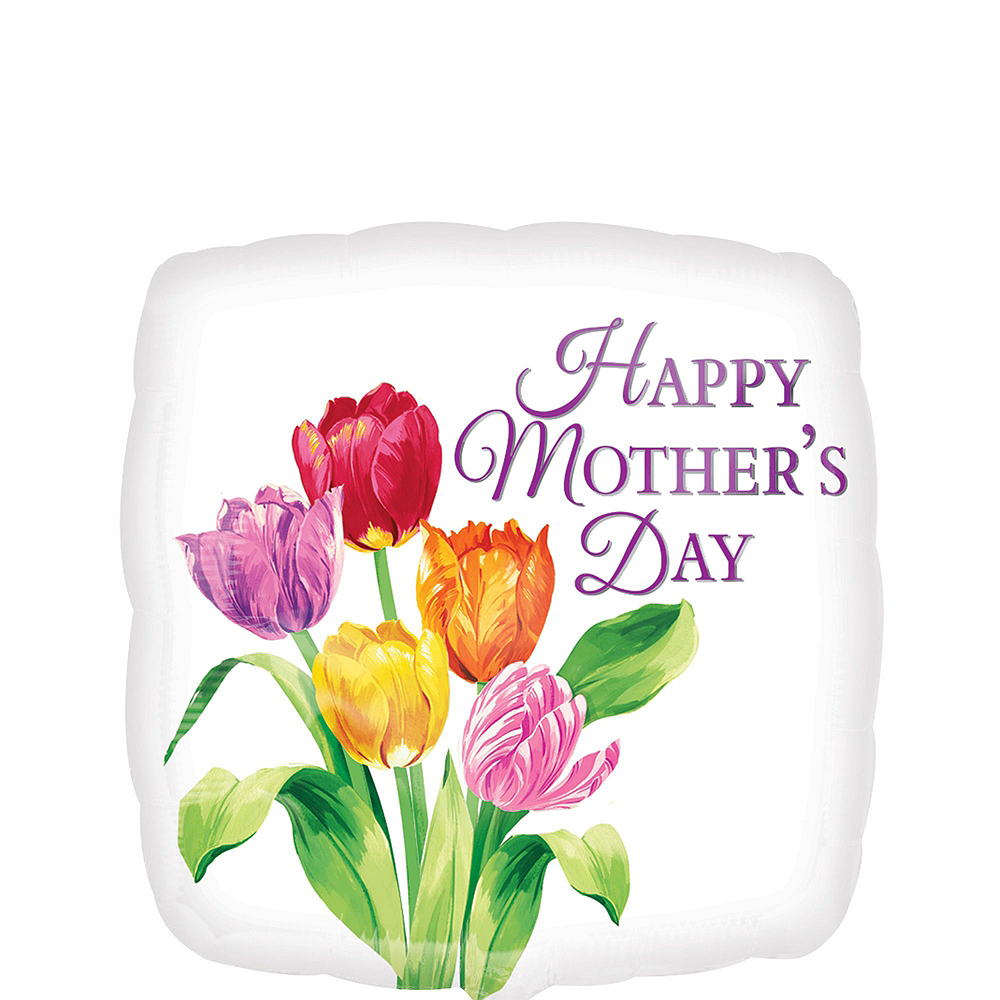 Tulips & Hearts Mother's Day Balloon Kit Image #3