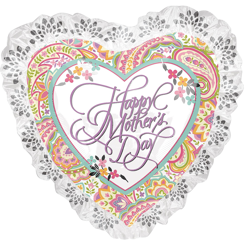 Bright Flowers & Hearts Mother's Day Balloon Kit Image #3