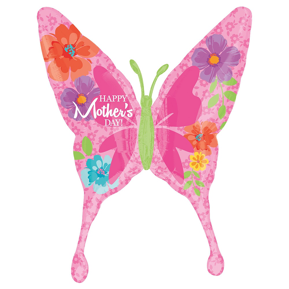 Nav Item for Butterflies & Hearts Mother's Day Balloon Kit Image #3