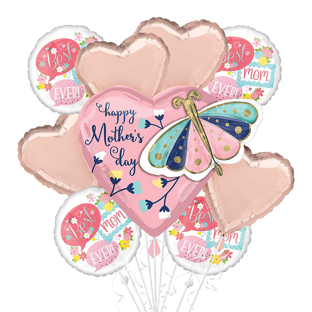Butterflies & Flowers Mother's Day Balloon Kit Image #1