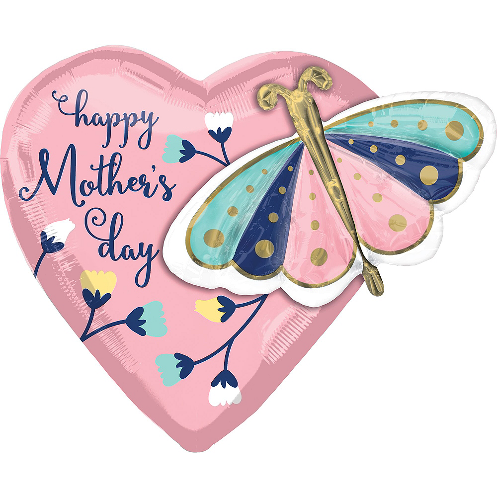 Butterflies & Flowers Mother's Day Balloon Kit Image #4