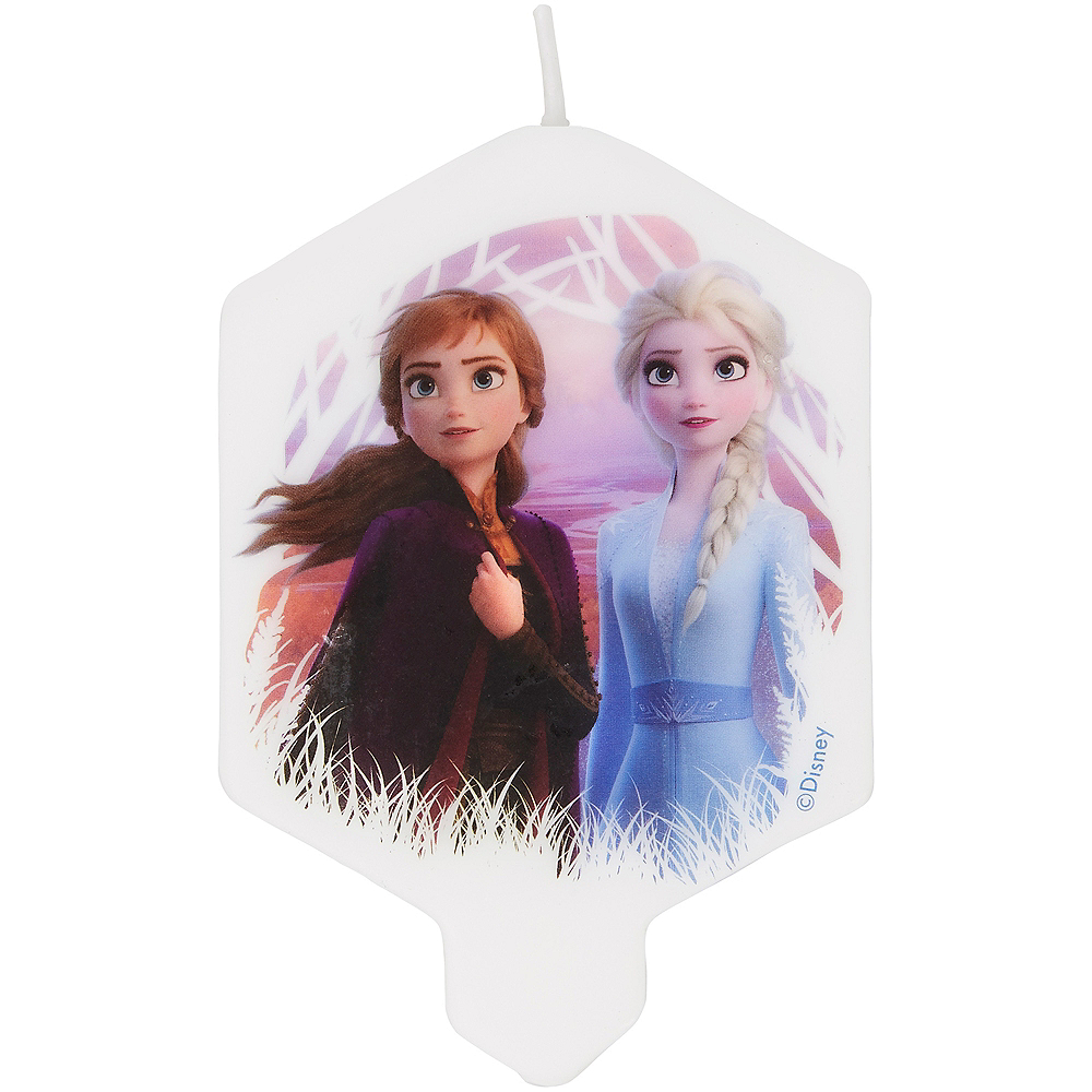 Nav Item for Wilton Frozen 2 Birthday Candle Image #1