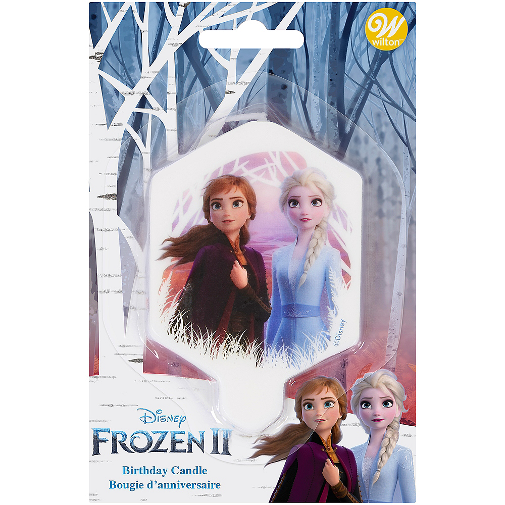 Nav Item for Wilton Frozen 2 Birthday Candle Image #2