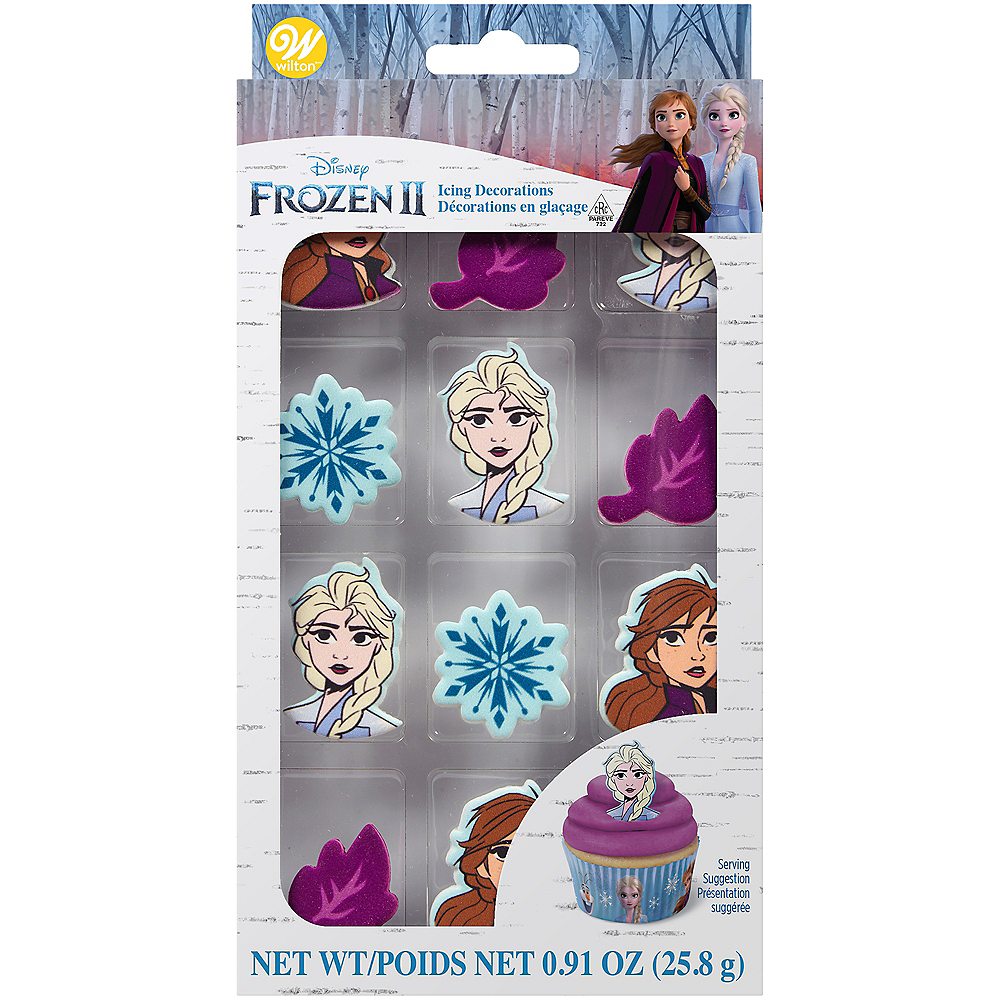 Wilton Frozen 2 Icing Decorations 12ct Image #2