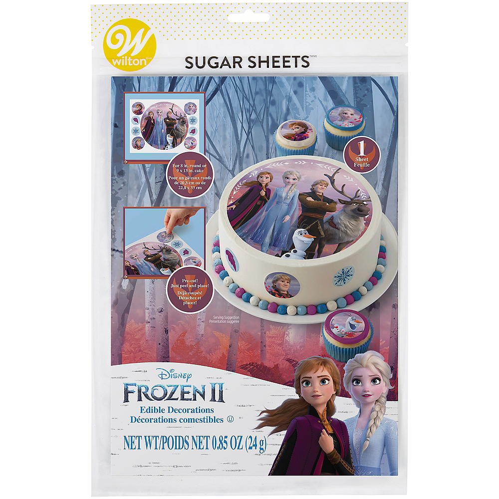 Nav Item for Wilton Frozen 2 Sugar Sheets 9ct Image #2