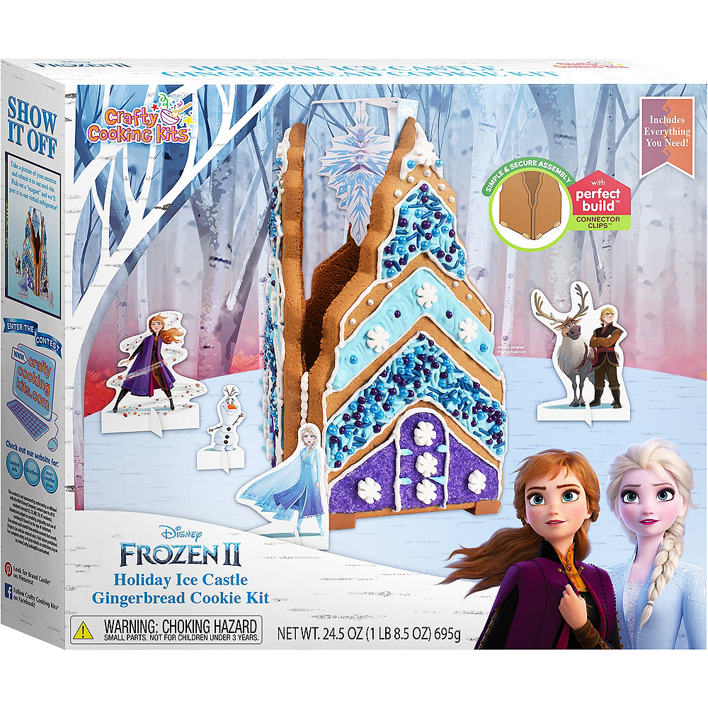 Holiday Ice Castle Gingerbread House Kit - Frozen 2 Image #1