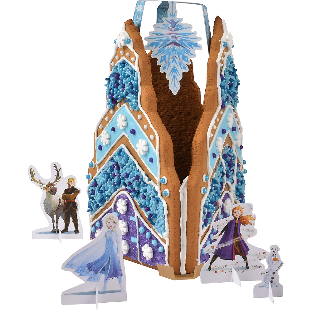 Holiday Ice Castle Gingerbread House Kit - Frozen 2 Image #2