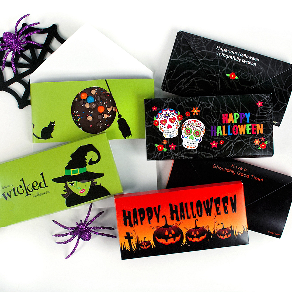 Halloween Gourmet Chocolate Bars 6ct Image #2