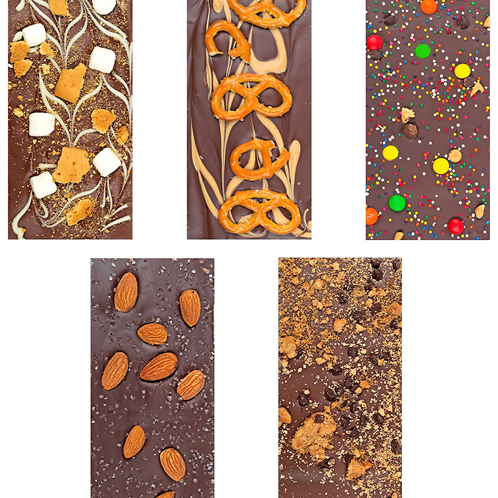 Nav Item for Halloween Gourmet Chocolate Bars 6ct Image #3