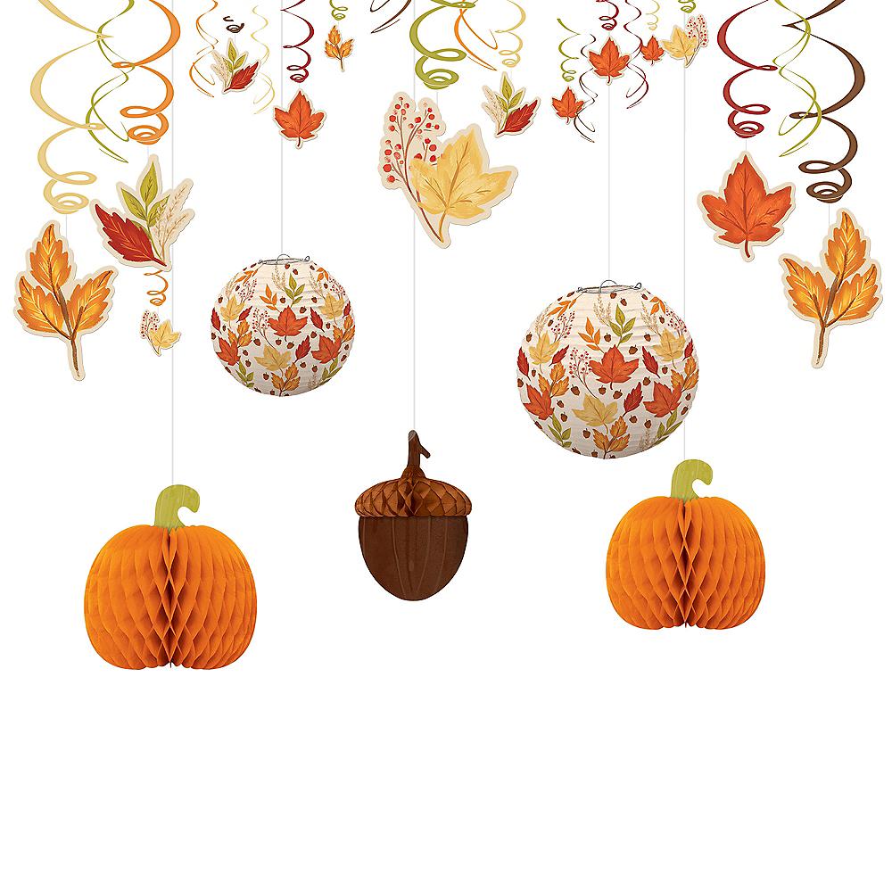 Fall Foliage Decorating Kit Image #1