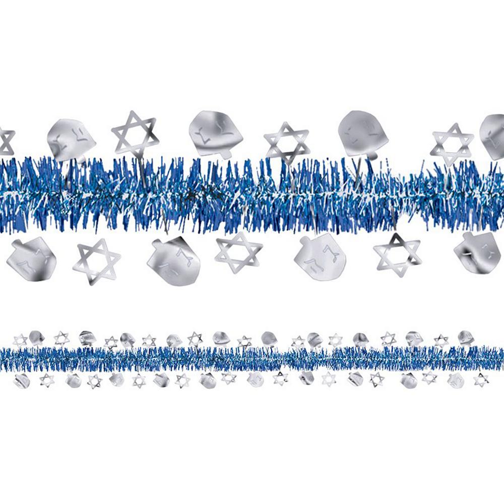 Blue & Silver Dreidel Decorating Kit Image #2