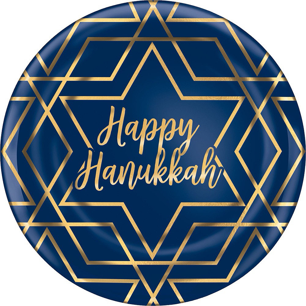 Hanukkah Celebration Tableware Kit for 20 Guests Image #3