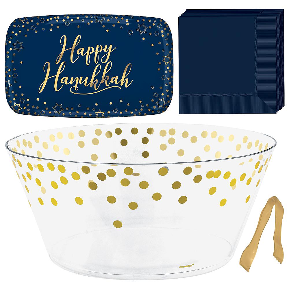 Happy Hanukkah Serveware Kit Image #1