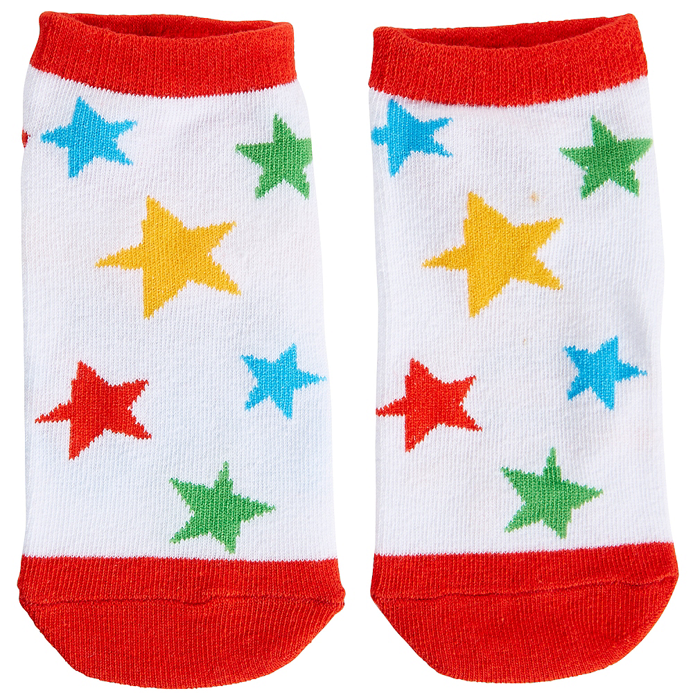 Child 100 Days Brighter Ankle Socks - 100 Days of School Image #2