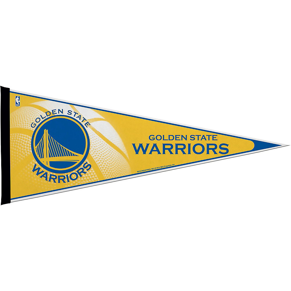 Premium Golden State Warriors Pennant Flag Image #1