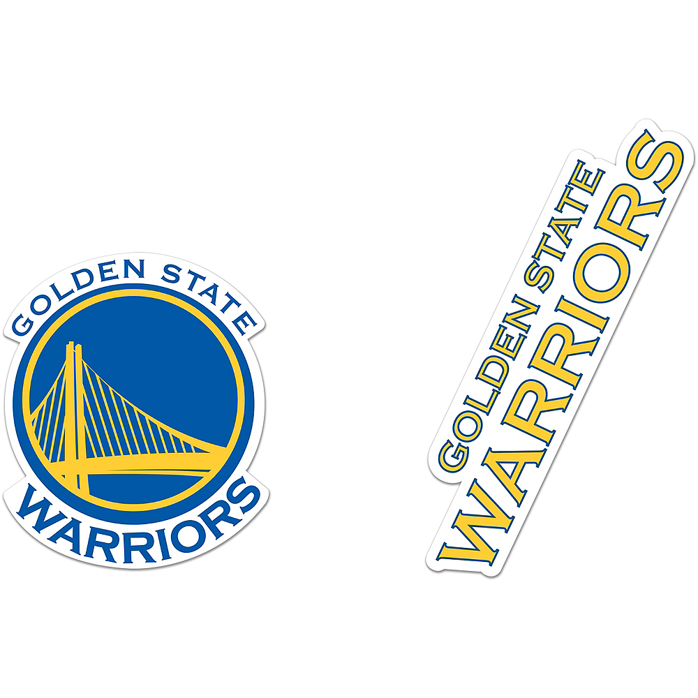 Golden State Warriors Magnets 2ct Image #1