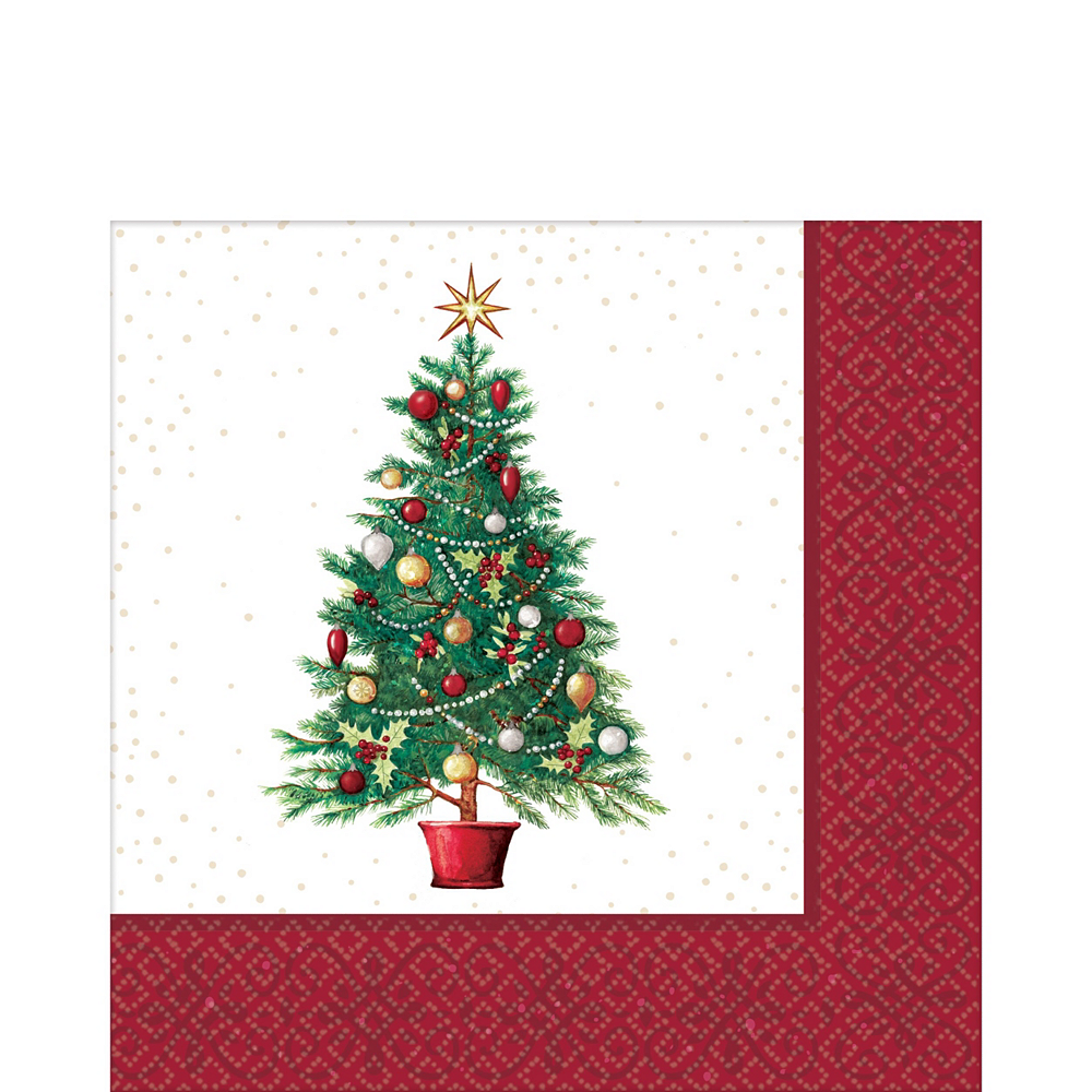 Oh Christmas Tree Tableware Kit for 50 Guests Image #5