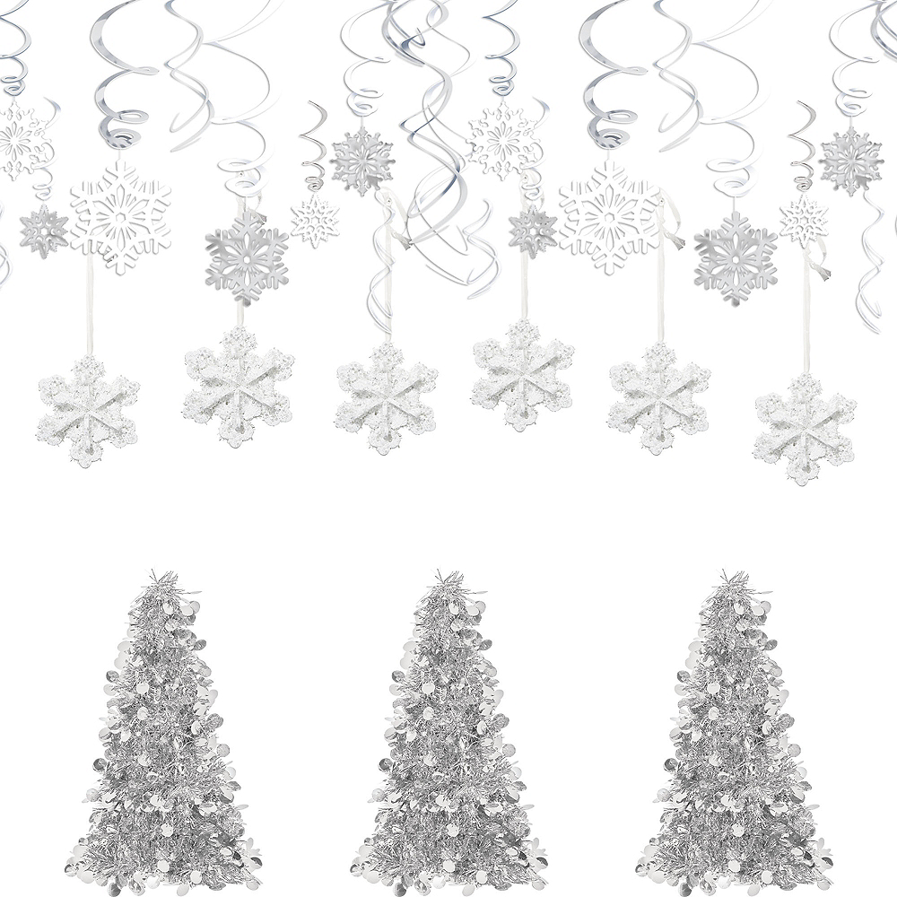 Glitter Snowflake Decorating Kit Image #1