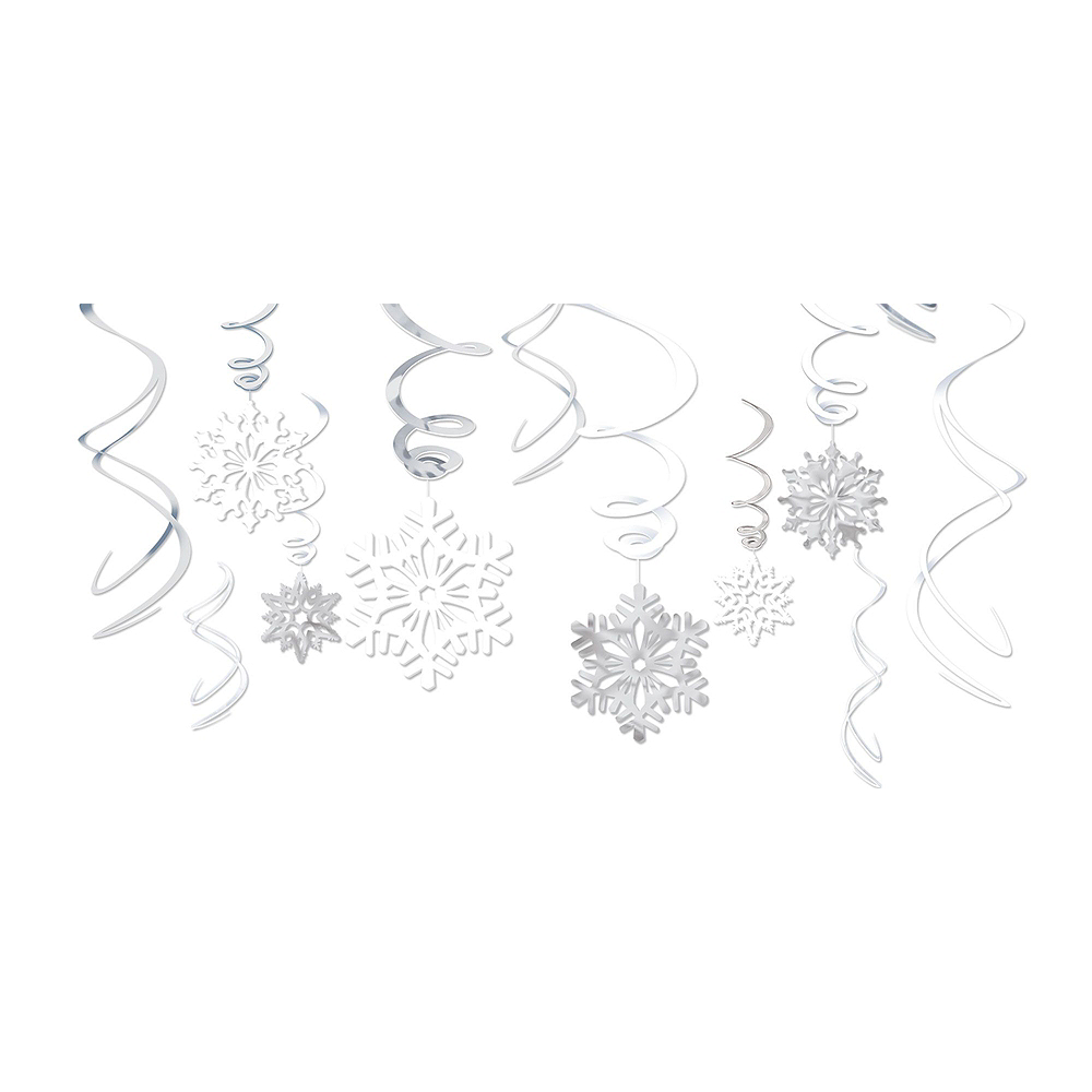 Nav Item for Glitter Snowflake Decorating Kit Image #2