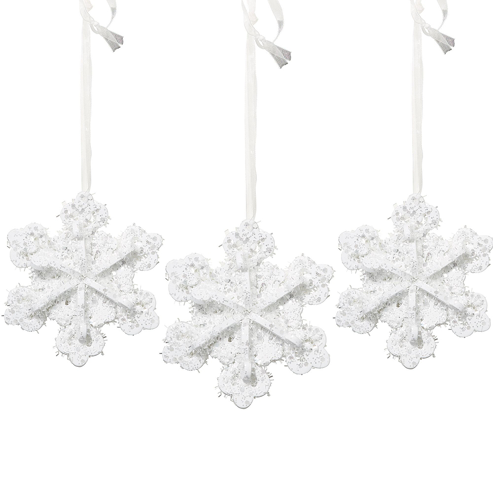 Glitter Snowflake Decorating Kit Image #3